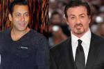 Salman Khan (kiri) dan Sylvester Stallone (kanan) (Istimewa)