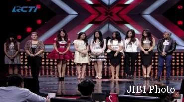 Sembilan kontestan X Factor Indonesia yang mendapat kesempatan kedua (Youtube.com)