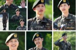 Song Joong Ki menyelesaikan wajib militer (Twitter.com/Newsen)
