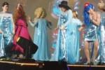 Super Junior mengenakan kostum Frozen (Istimewa/Liputan6)