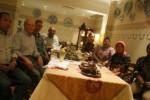 Pihak DPUP ESDM DIY saat bertemu perwakilan TCF-EU di Hotel Phoenix, Rabu (29/4/2015) malam. (Arief Junianto/JIBI/Harian Jogja)