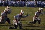 Aksi para penari tari Panjidur Langen Kridotomo sebelum upacara peringatan hari kebangkitan nasional tahun 2015 di Alun-Alun Wates, Kulonprogo, Rabu (20/5/2015). (JIBI/Harian Jogja/Rima Sekarani I.N.)
