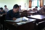 Sejumlah calon anggota panitia pemilihan kecamatan (PPK) mengikuti tes tertulis di SMAN 3 Boyolali, Senin(4/5/2015). (Hijriyah Al Wakhidah/JIBI/Solopos)