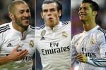 Benzema, Bale, Cristiano adalah trisula BBC Madrid yang berbahaya bagi lawan. Ist/marca.com