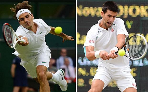 Federrer dan Djokovic melaju ke babak semifinal Roma Masters setelah mengalahkan lawan mereka. Ist/t
