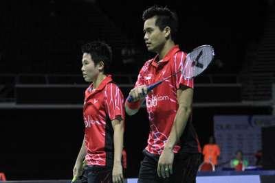 Pasangan ganda campuran Indonesia Owi/Butet gagal membawa pulang gelar juara. Ist/dok