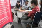 Pelamar kerja dalam acara Job Marketing di Alun-Alun Madiun. (JIBI/Solopos/Aries Susanto)