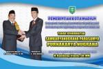 Walikota Madiun Bambang Irianto menerima penghargaan Penghargaan Samkaryanugraha Parasamya Purnakarya Nugraha dari Presiden Joko Widodo. (Ist/Humas Protokol Kota Madiun)