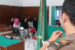 Beberapa pasangan yang terjaring Operasi Pekat disidangkan di Pengadilan Negeri, Selasa (12/5/2015) siang. (JIBI/Harian Jogja/Arief Junianto)