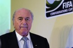 Presiden FIFA, Sepp Blatter (Reuters/Sergio Moraes)