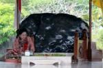 Megawati mengunjungi makam Bung Karno, Minggu (31/5/2015). (JIBI/Solopos/Antara/Irfan Anshori)