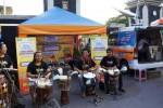Aksi musik perkusi Pasar Ramadan Simpedes di Manahan, Jumat (26/6/2015). (Sunaryo Haryo Bayu/JIBI/Solopos)