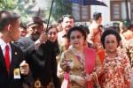Megawati saat pernikahan Gibran-Selvi di Solo, Kamis (11/6/2015). (Reza Fitriyanto/JIBI/Solopos)