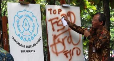Launching FSRD UNS di Kampus Kentingan, Solo, Kamis (4/6/2015). (Sunaryo Haryo Bayu/JIBI/Solopos)