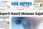Halaman Depan Harian Umum Solopos edisi Minggu, 28 Juni 2015