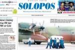 Halaman Depan Harian Umum Solopos edisi Rabu, 3 Juni 2015