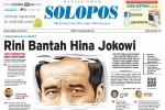Halaman Depan Harian Umum Solopos edisi Selasa, 30 Juni 2015
