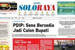 Halaman Soloraya Harian Umum Solopos edisi Rabu, 3 Juni 2015