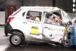 Hasil uji tabrak Datsun Go oleh Global NCAP. (Globanncap.com)