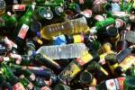 MIRAS GUNUNGKIDUL : Razia di Warung Remang-Remang Wonosari, Ratusan Botol Ciu Oplosan Disita