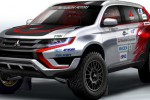 Mitsubhisi Outlander PHEV khusus reli Baja Portalegre 500. (Carscoops.com)