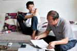 Peng Chao dan sang ayah (Shanghaiist)
