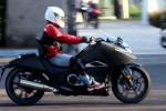 Posisi berkendara Honda NM4 Vultus. (Tmcblog.com)