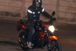 Posisi berkendara Yamaha Byson Injeksi. (Tmcblog.com)