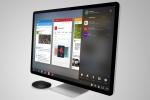 Remix Mini saat terhubung dengan monitor (Android Authority)