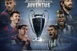 Final Liga Champions mempertemukan Juventus vs Barcelona diperkirakan akan seru. Ist/twitter.com