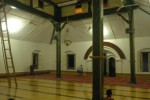 Ruang induk Masjid Agung Sewulan di Kecamatan Dagangan, Madiun. (JIBI/Solopos/Aries Susanto)