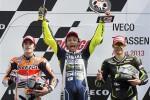 Terlibat Pertarungan Sengit, Rossi-Marquez Tetap Bersahabat (Reuters/Paul Vreeker/United Photos)