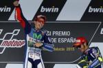 Jorge Lorenzo memenangi balapan GP Catalunya (Reuters/Marcelo del Pozo)