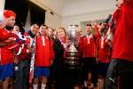 Chile merayakan gelar juara Copa America 2015 (Reuters/Rodrigo Garrido)