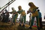 Cuci Tangan Hari Anak Nasional (JIBI/Harian Jogja/Desi Suryanto)