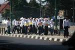 Hentikan Perploncoan (JIBI/Harian Jogja/Desi Suryanto)