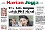 Harian Jogja edisi Jumat (31/7/2015)