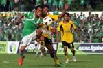 PSMS Medan akan ikut turnamen Piala Kemerdekaan (Antarafoto/Septianda Perdana/ed/ama/13)