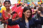 Aming dan Chef Priscilya di Gay Pride Parade 2015 (Instagram)