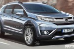 Desain realistis Honda BR-V ciptaan Shoeb Kalania. (Indianautosblog.com)