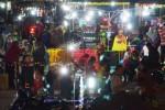 Pasar malam Ramadan di Alun-Alun Ponorogo, Rabu (1/7/2015) malam. (JIBI/Solopos/Antara/Fikri Yusuf)