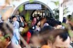 Kesibukan arus balik mudik Lebaran 2015 di Stasiun Senen, Jakarta, Minggu (26/7/2015). (Abdullah Azzam/JIBI/Bisnis)
