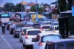 Kemacetan pantura di kawasan perbatasan Tegal-Brebes, Selasa (14/7/2015). (JIBI/Solopos/Antara/Oky Lukmansyah)