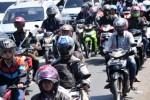 Ilustrasi pemudik dengan sepeda motor (JIBI/Solopos/Antara/Oky Lukmansyah)