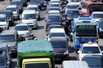Kemacetan 20 km arus lalu lintas di pantura Tegal, Selasa (21/7/2015). (JIBI/Solopos/Antara/Oky Lukmansyah)