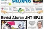Halaman Depan Harian Umum Solopos edisi Jumat, 3 Juli 2015