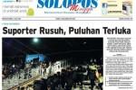 Halaman Depan Harian Umum Solopos edisi Minggu, 5 Juli 2015