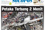 Halaman Depan Harian Umum Solopos edisi Rabu, 1 Juli 2015