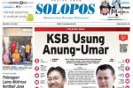 Halaman Depan Harian Umum Solopos edisi Rabu, 8 Juli 2015