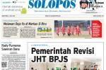 Halaman Depan Harian Umum Solopos edisi Sabtu, 4 Juli 2015